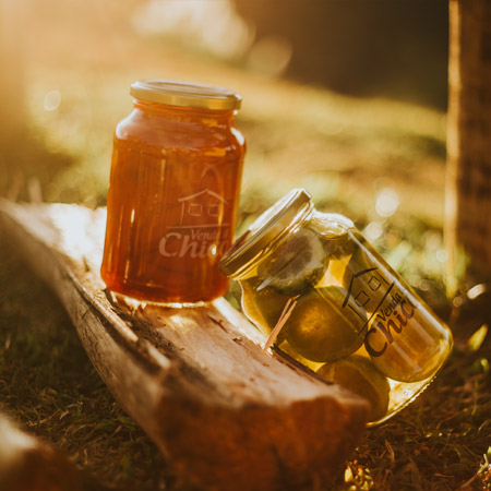 Doce Mistura Melada Venda Do Chico – Grande - Frutas mistas em calda